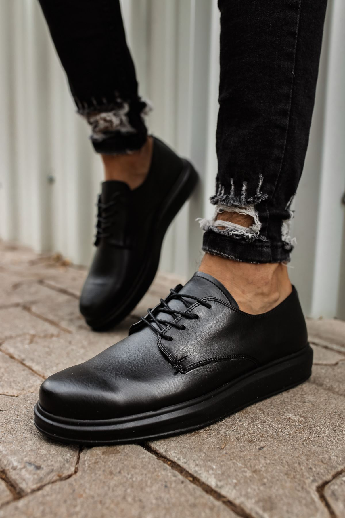 Chekich CH003 ST Erkek Ayakkabı SIYAH m706